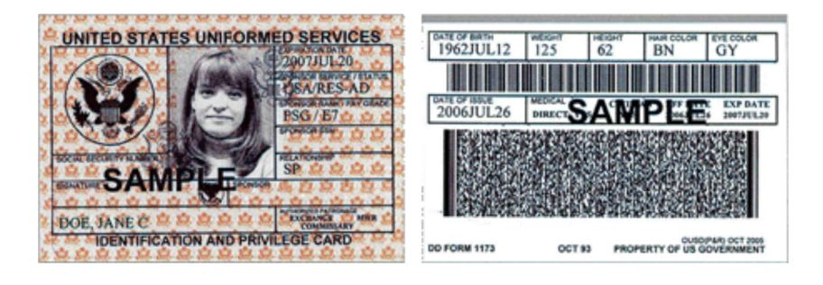 importance of maintaining your military identification card Free essays on importance of not losing your cac card get help with your writing 1 through 30.